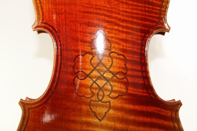 5弦バイオリン ガスパーロ・ダ・サロ ♪一枚裏板♪ 4/4 Gasparo da Salo