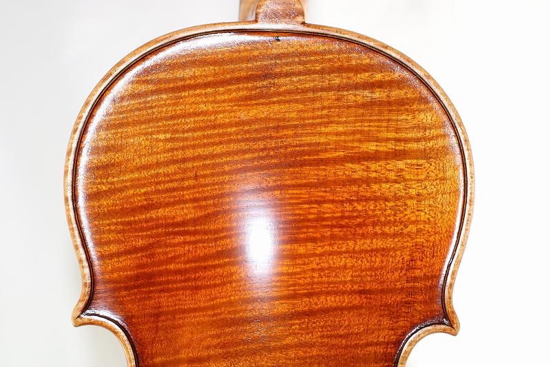 最高品質マスター・バイオリン アマティ モデル Nicolo Amati ♪一枚裏板♪ オールド仕上げ 50年物スプルース材 4/4