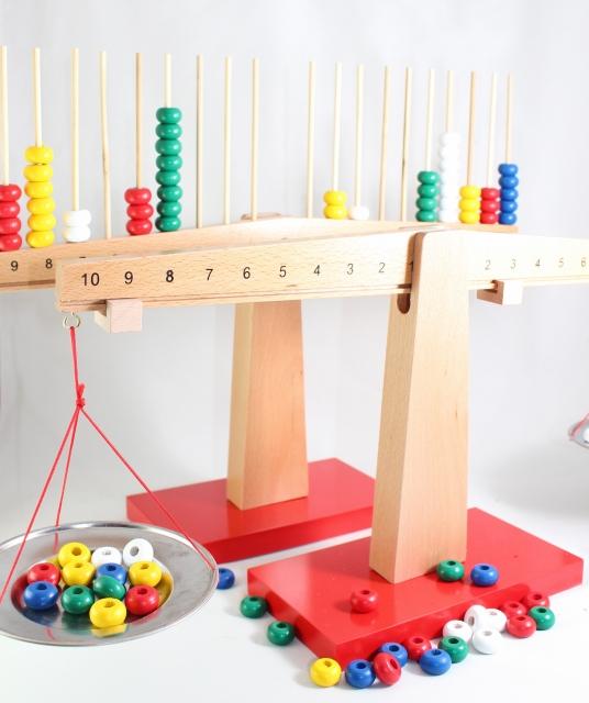 モンテッソーリ はかり 天秤 超目玉 永遠の定番 2種セット Montessori Balance Scale 知育玩具 Counting