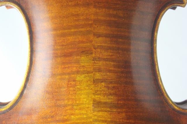 ブルガリア製バイオリン 4/4 Boris Ushev 2008 オールド仕上げ