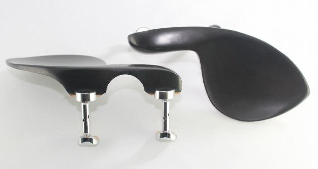 高品質 あご当て お気に入り ガルネリ型 黒檀 選択 スタイル クローム金具 ヒル