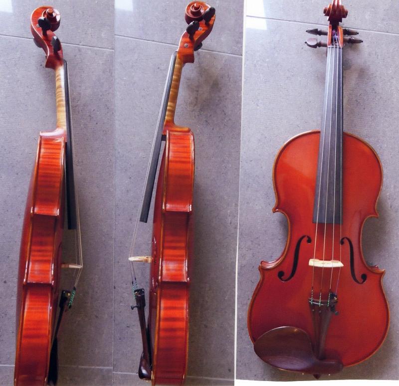 Mario Gadda 1993 ♪パーソナル・モデル♪ モダン・イタリアン・バイオリン 【製作証明書、鑑定書付き】
