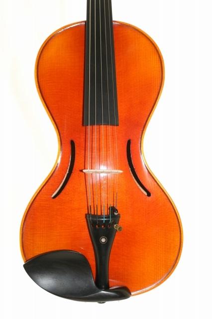 5弦バイオリン 傑作 the Chanot Violin 1819モデル4/4 (瓢箪ボディ、通常スクロール)