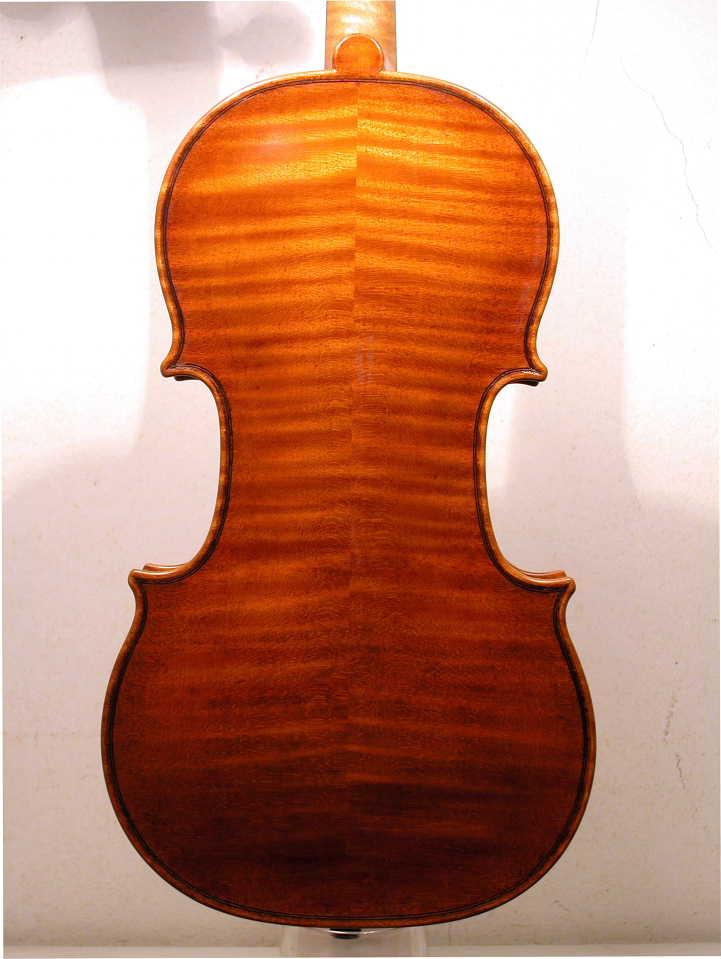 2010年製作 バイオリン クラウディオ・コッサーリ Guarneri 『Pietro Claudio モデル』 Cossali