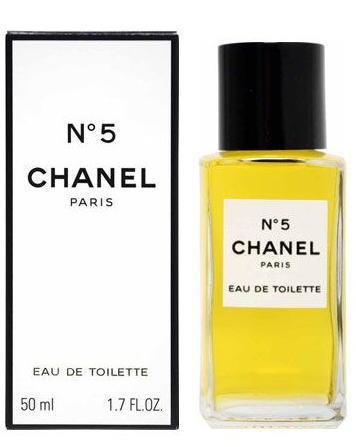 691f7b91b9 Chanel No.5 EDT Eau de toilette 50 ml bottle CHANEL N ° 5 EAU DE TOILETTE  BOTTLE TYPE
