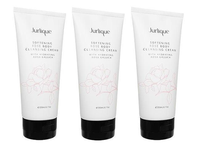 ジュリーク ソフトニング・ローズボディクレンジングクリーム200ml [ヤマト便] ×3本 (Jurlique) Softening Rose Body Cleansing Cream