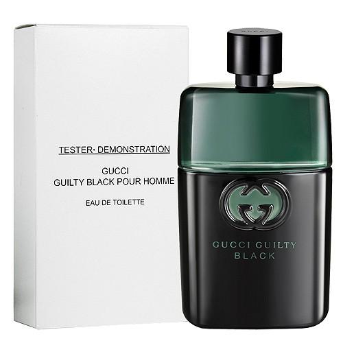 Gucci guilty black pour Homme EDT Eau de PARFUM spray 90 ml (tester) by GUCCI  GUILTY BLACK POUR HOMME EAU DE TOILETTE SPRAY (TESTER) 5c01a65a8d91