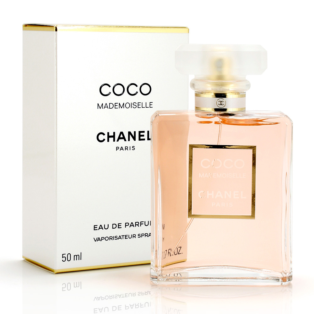 Mademoiselle coco chanel perfume photo catalog photo