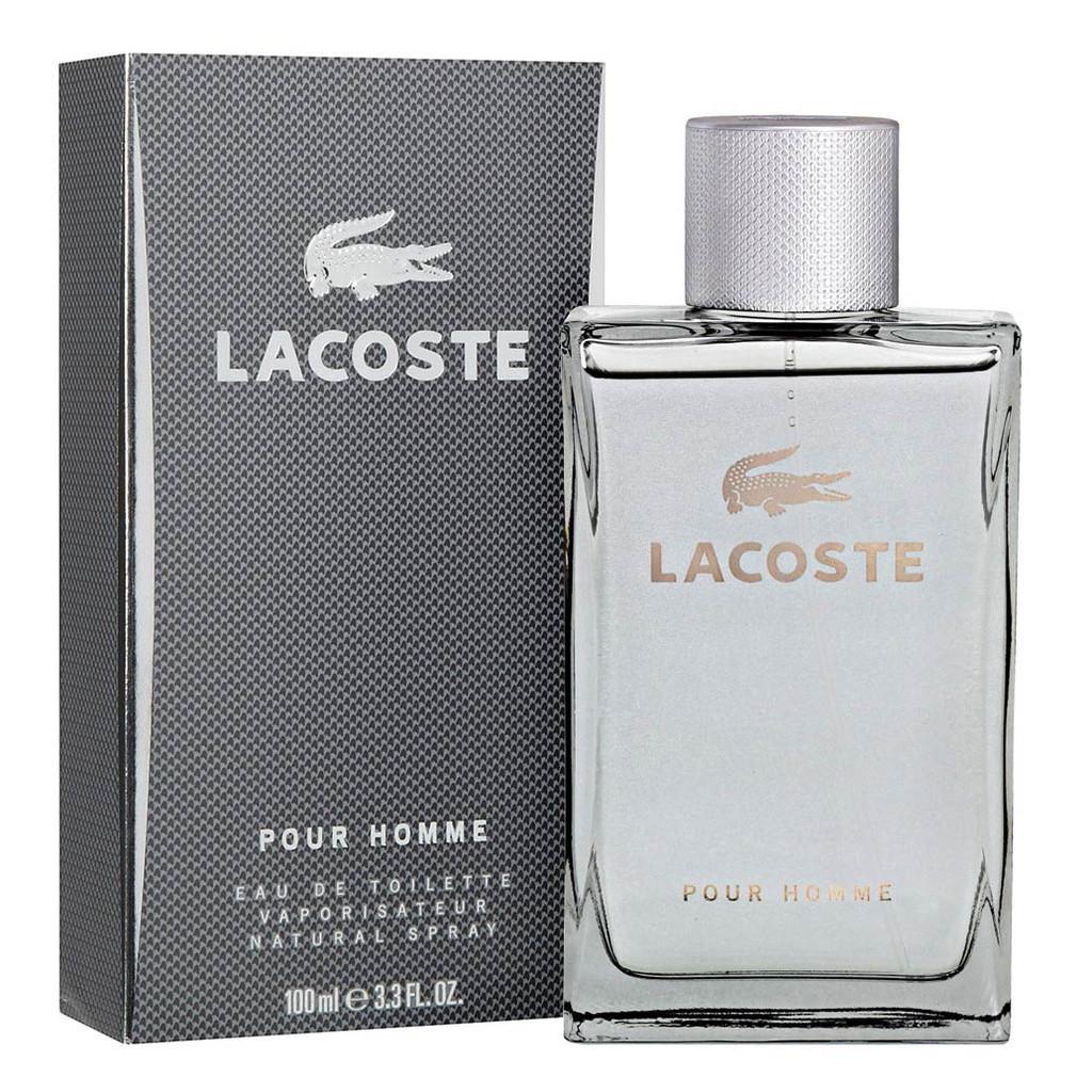 Lacoste pour Homme EDT 100 ml LACOSTE POUR HOMME EAU DE TOILETTE SPRAY 38b19229a4dca