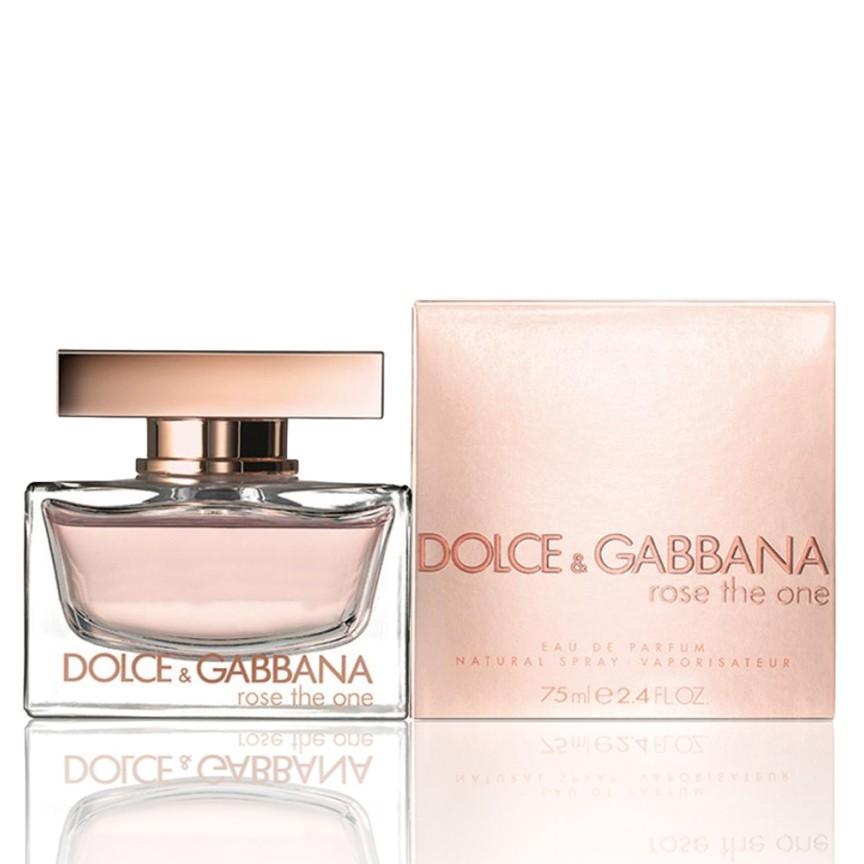 dolce gabbana perfume rose the one