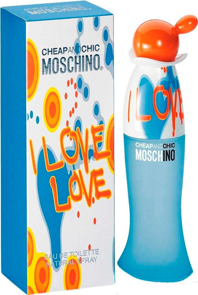 3f357c6c25339 50 ml of Moschino eye love love eau de toilette spray EDT SP MOSCHINO I  LOVE LOVE EAU DE TOILETTE SPRAY