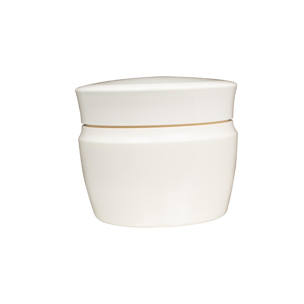 空ボトル クリームケース 空容器 100個セット 56mLまで入る ミルキー白 白ボトル 空 容器 クリーム 乳液