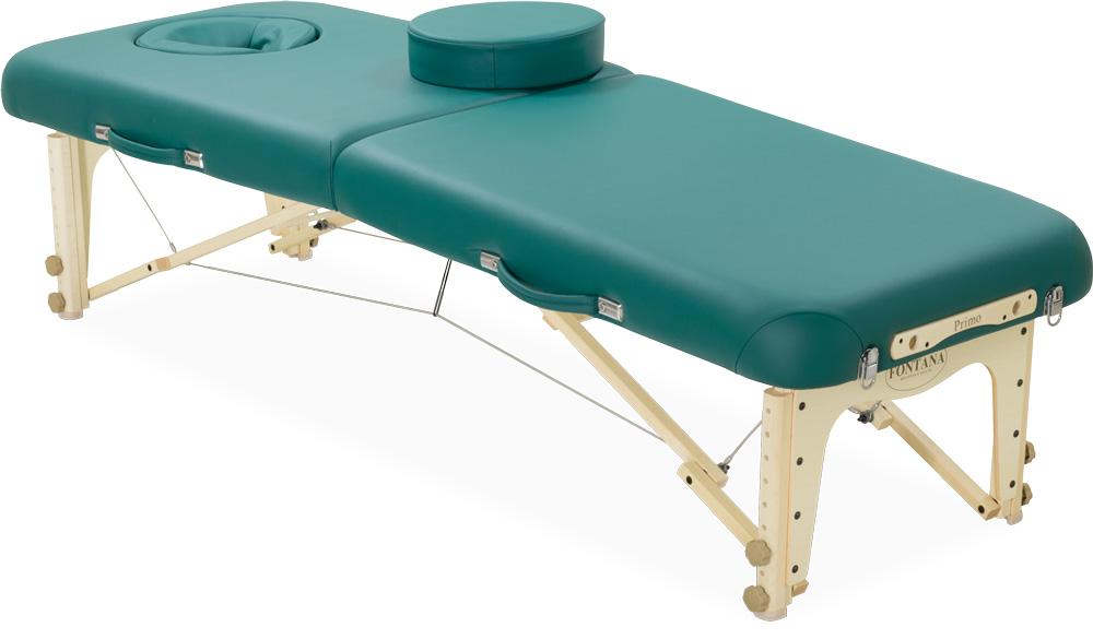 プリモ スポーツ (幅:25/28インチ) マッサージベッド 折りたたみベッド