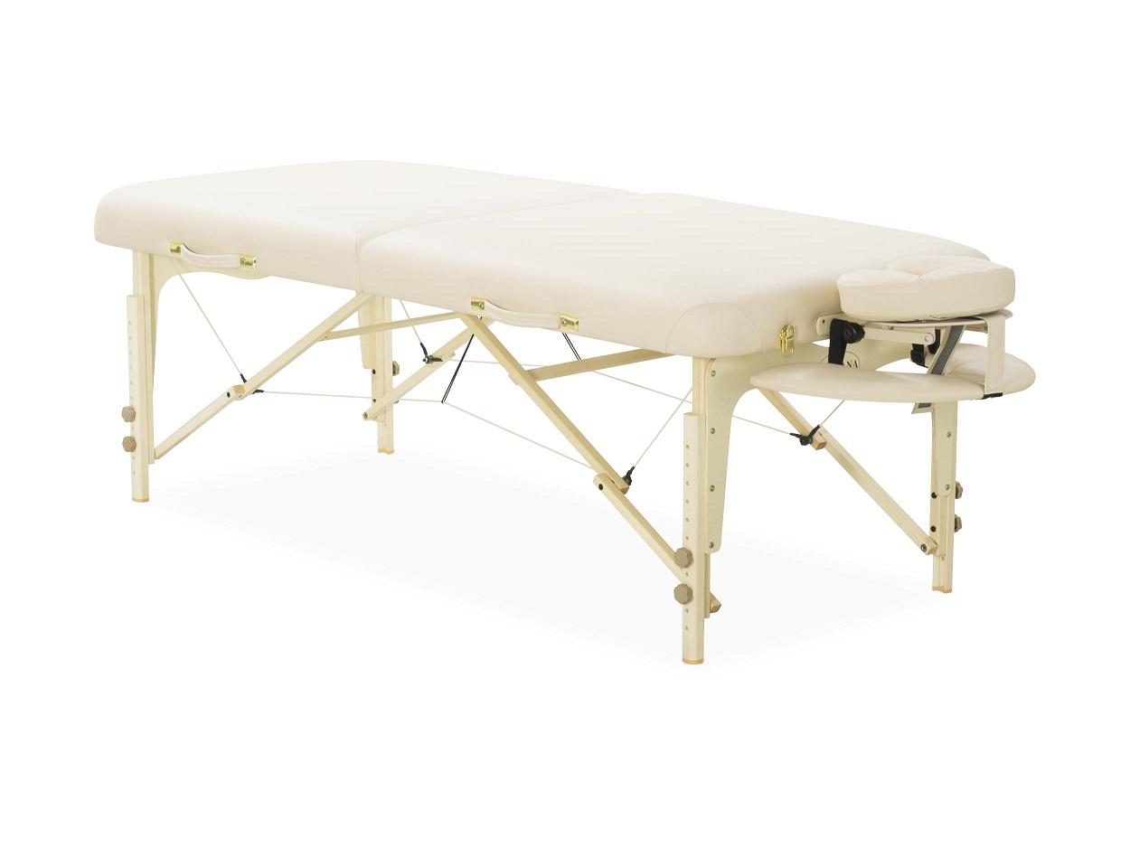 ベネチア 32インチ バニラ マッサージベッド 折りたたみベッド