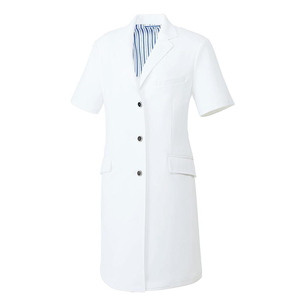 unite ドクターコート 半袖 UN-0086 女性用 レディース用 医療用ユニフォーム