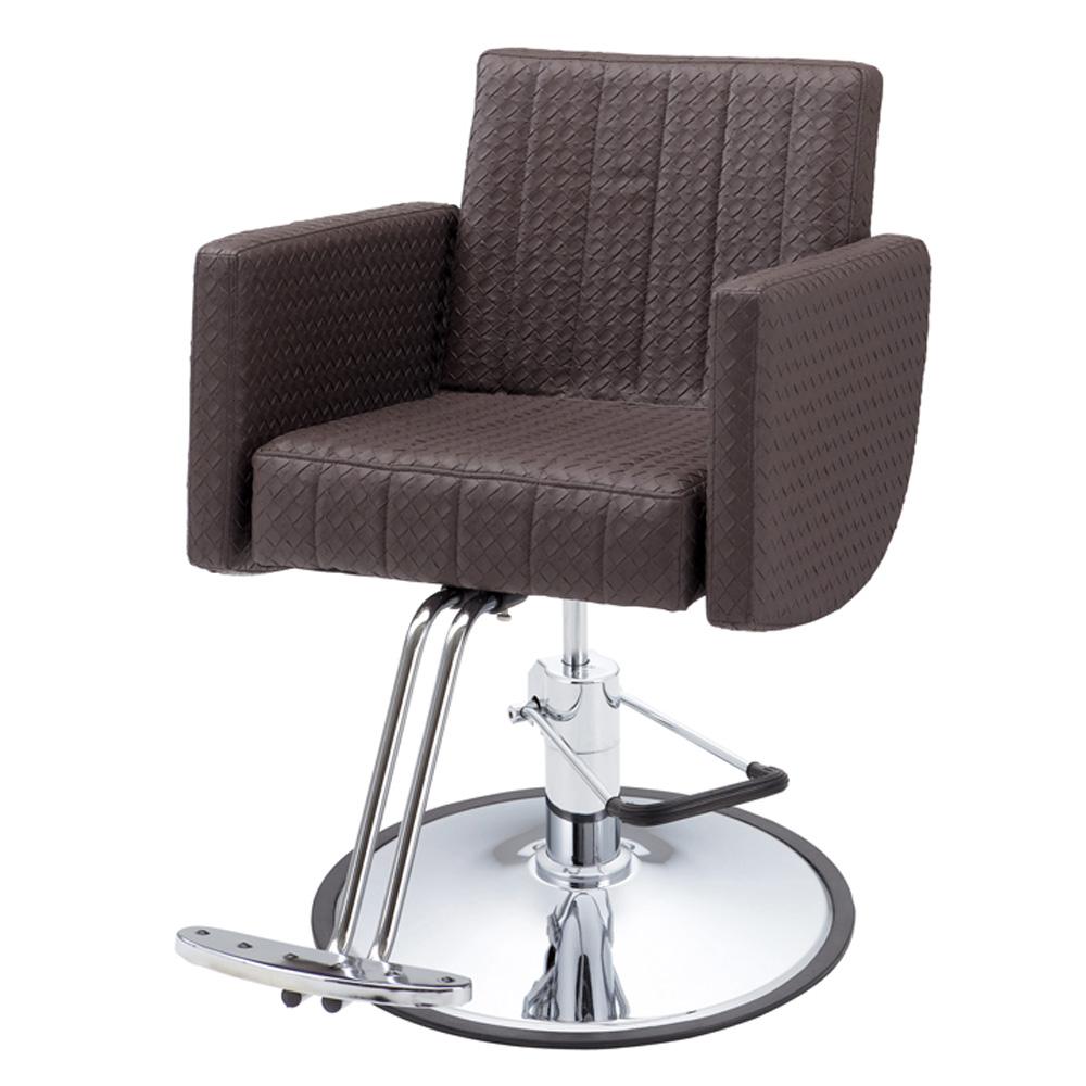 FV-1931スタイリングチェア フットポンプ式丸脚 【スタイリングチェア】【チェア 椅子 イス】【セットチェア】【セット椅子】【セットイス】【カット椅子】【カットイス】【カットチェア】【美容室 チェア 椅子 イス】【美容師 開業】