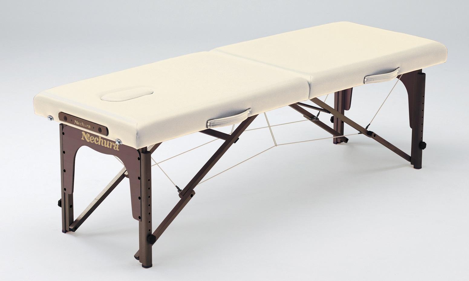 マッサージベッド 折りたたみ ネチュラSimple Practice(シンプルプラクティス) 脚部:ウォルナット木製折り畳みベッド  マッサージ ベッド 整体 ベッド 整体台 エステベッド マッサージ台 施術台 施術ベッド 折り畳み式 折りたたみ式