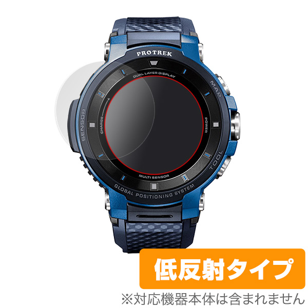 PRO TREK Smart WSD-F30 用 保護 フィルム OverLay Plus for PRO TREK Smart WSD-F30 (2枚組)  液晶 保護 アンチグレア 非光沢 低反射