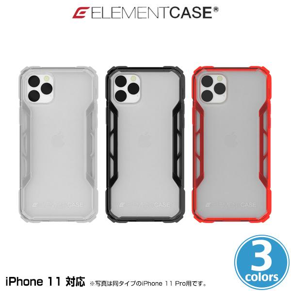 iPhone11 ケース ELEMENT CASE Rally(M) for iPhone 11 アイフォーン11 エレメントケース MILスペック ワイヤレス充電対応 自己修復 グリップ感 EMT-322-225F
