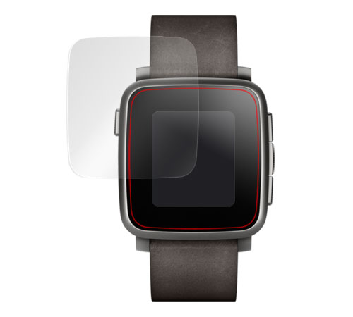 285f42dd51 楽天市場】Pebble Time Steel 用 保護 フィルム OverLay Brilliant for ...