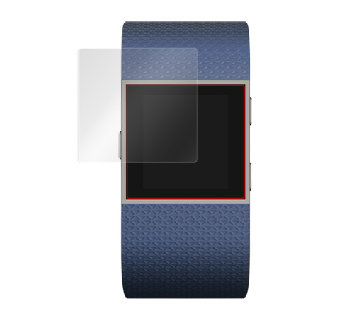 Fitbit Surge 用 保護 フィルム OverLay Brilliant (2枚組) 【ポストイン指定商品】 フィットビット サージ 液晶 シート シール  フィルター 指紋がつきにくい 防指紋 高光沢