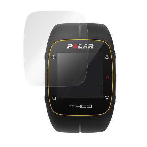 Polar M400 (2枚組) 用 保護 フィルム OverLay Brilliant 【ポストイン指定商品】 液晶 シート シール  フィルター 指紋がつきにくい 防指紋 高光沢