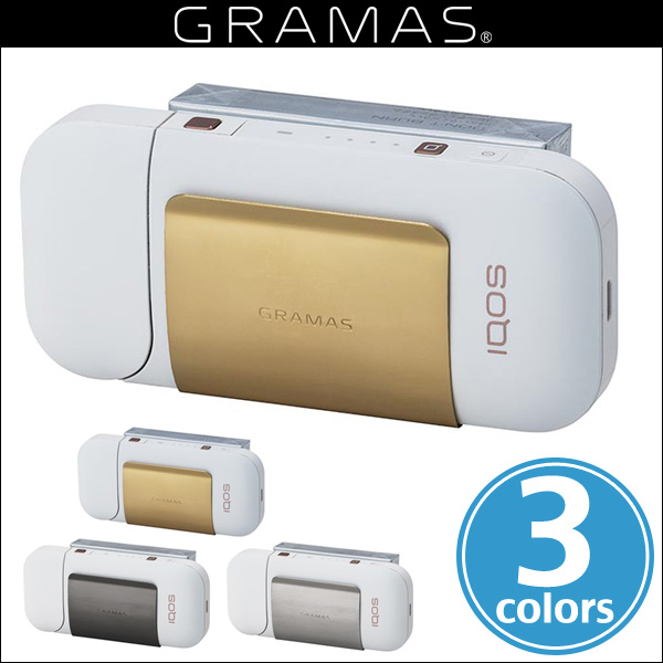 """GRAMAS """"CIG"""" Clip Stainless steel for IQOS / グラマス ケース アイコス クリップ型ケース"""