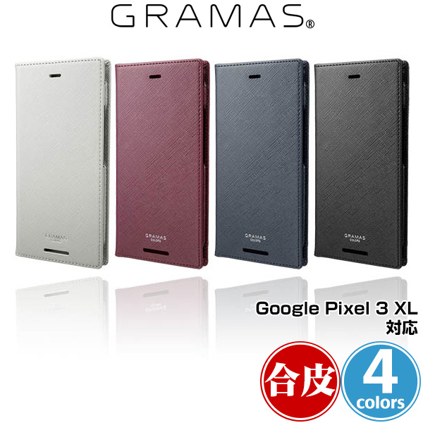"""Google Pixel 3 XL 用 GRAMAS COLORS """"EURO Passione"""" PU Leather Book Case for Google Pixel 3 XL 手帳型 グラマス グーグル ピクセル"""