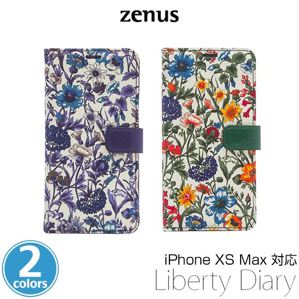 iPhone XS Max 用 Zenus Liberty Diary for iPhone XS Max アイフォンXSマックス アイフォンテンエスマックス iPhoneXSMAX テンエスマックス アイフォーン アイフォンX 2018 6.5