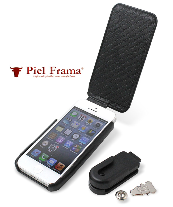 Piel Frama iMagnum Natural Cowskin レザーケース for iPhone SE / 5s / 5