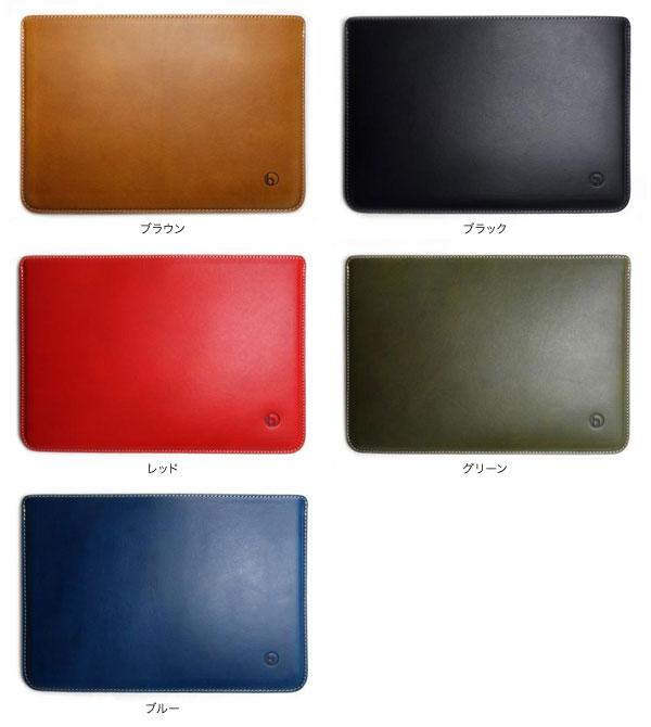 buzzhouse design バズハウスデザイン ハンドメイドレザーケース for iPad(第5世代) / iPad Pro 9.7インチ / iPad Air 2 / iPad Air