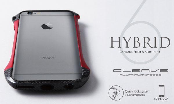 iphone6 アルミバンパー cleave ディーフDeff【送料無料】iPhone6 4.7インチ用アルミバンパー CLEAVE Hybrid Bumper for iPhone 6s / iPhone 6 用アルミバンパー アルミケース アルミニウムケース