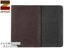 iPad Air 2 用 ケース ゼヌス ZENUS Black Tesoro Diary for iPad Air 2