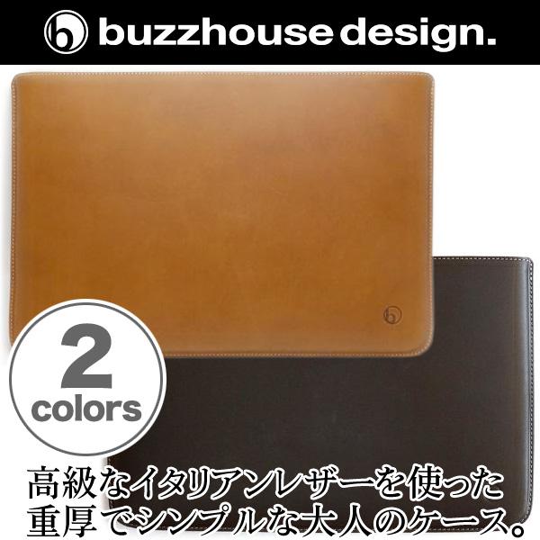 バズハウスデザイン buzzhouse design ハンドメイドレザーケース for VAIO Z (VJZ13A1)