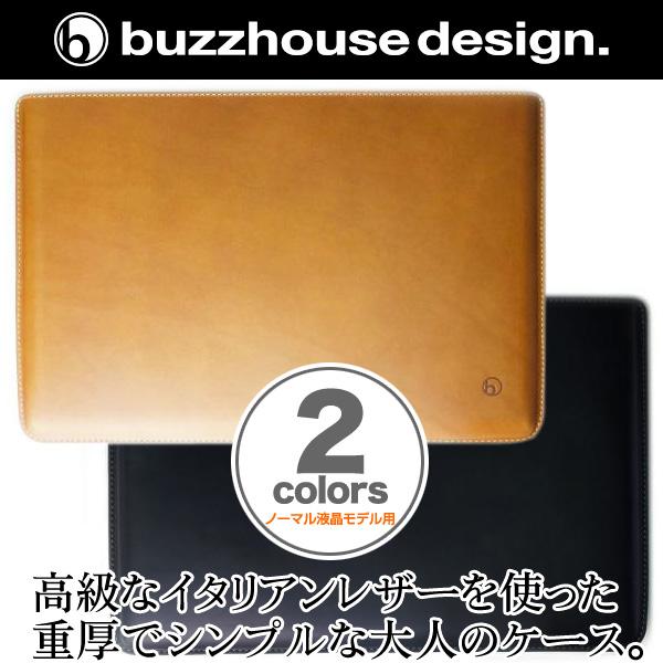 バズハウスデザイン buzzhouse design【送料無料】ハンドメイドレザーケース for NEC LaVie Hybrid ZERO HZ550/AABシリーズ(ノーマル液晶モデル用)