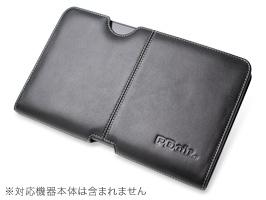 Optimus Pad L-06C 用 ケース PDAIR レザーケース for Optimus Pad L-06C ポーチタイプ(ブラック)