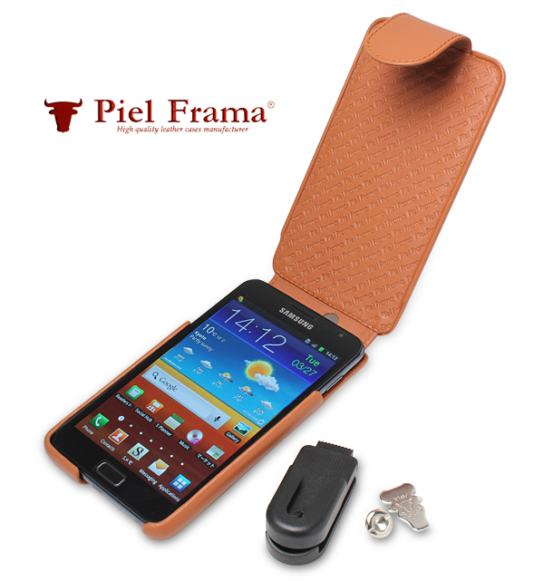 Piel Frama iMagnum レザーケース for GALAXY Note SC-05D