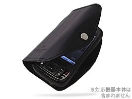 【レザーカバー/レザージャケット】丑や レザーケース for EMONSTER(S11HT)(手帳型革カバー)