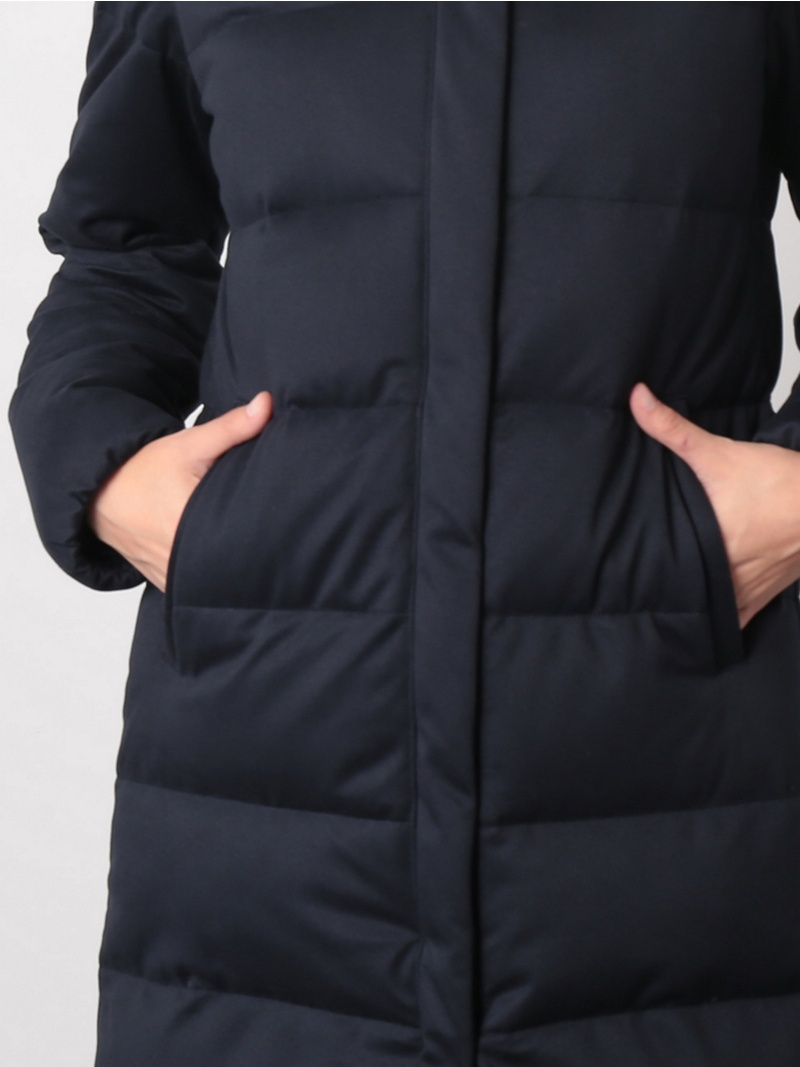 Rakuten FashionSALE 70 OFF ストレッチダウンコート ViS ビス コート ジャケット ダウンジャケット ネイビー カーキ グレー RBA E送料無料wPXNnk80O