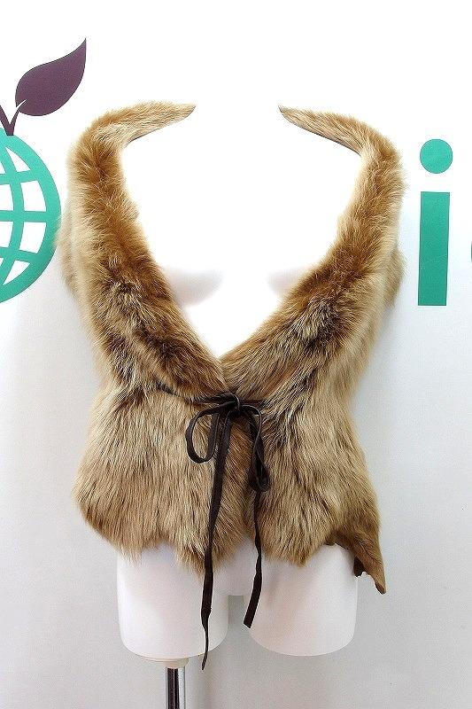 トスカナラム 羊革 毛皮 ファー 新品 送料無料 アシンメトリー ショール ルドーム ブラウン 予約販売 ケープ