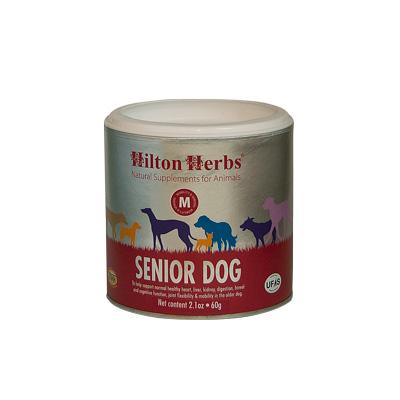 ヒルトンハーブ 犬用 サプリメント ヒルトンハーブ シニアドッグ(旧ベテラン)(Senior Dog) 粉末タイプ [250g] 小型犬用/中型犬用/大型犬用 子犬用/成犬用/高齢犬(シニア犬)用 天然成分100% 無添加 dog visions