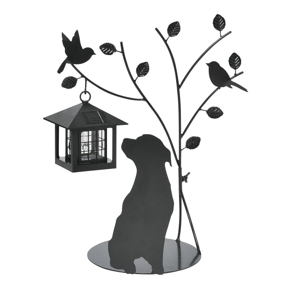 ガーデンライト セトクラフト シルエットソーラー(Tree&Dog) SI-1953-900【送料無料】【smtb-TD】【saitama】