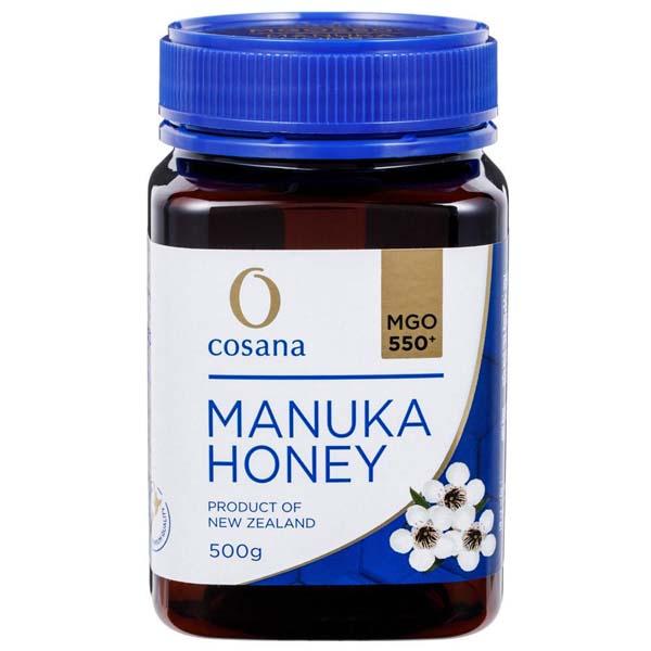 コサナ マヌカハニーMGO550+ 500g 蜂蜜 ハチミツ はちみつ マヌカ スーパーフード