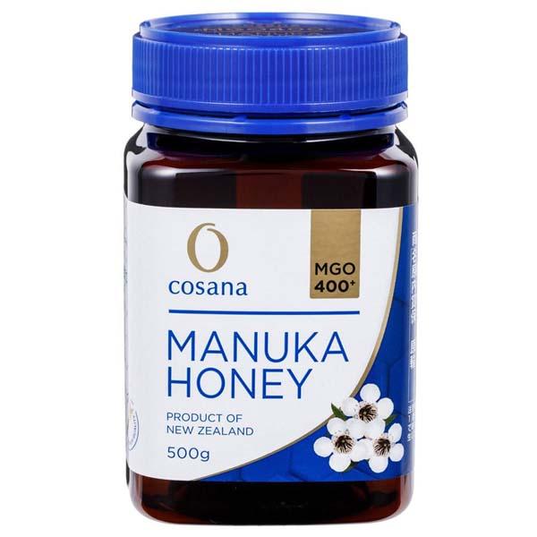 コサナ マヌカハニーMGO400+ 500g 蜂蜜 ハチミツ はちみつ マヌカ スーパーフード