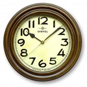 <title>昭和初期の時計をイメージしたレトロ電波時計 日本製 希望者のみラッピング無料 レトロ電波時計 スタンド付 アンティークブラウン DQL668 送料無料 smtb-TD saitama</title>