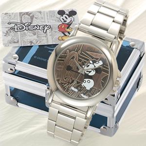 世界限定8000本!オールドミッキー腕時計 【ディズニー】【送料無料】【smtb-TD】【saitama】