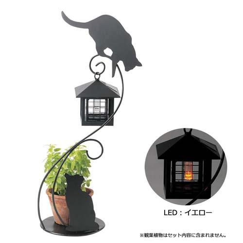 <title>SALE 玄関周りのコーディネートに 猫のシルエットソーラーライト☆ ガーデンライト シルエットソーラーライト キャット SI-1923-800 セトクラフト 送料無料 smtb-TD saitama</title>