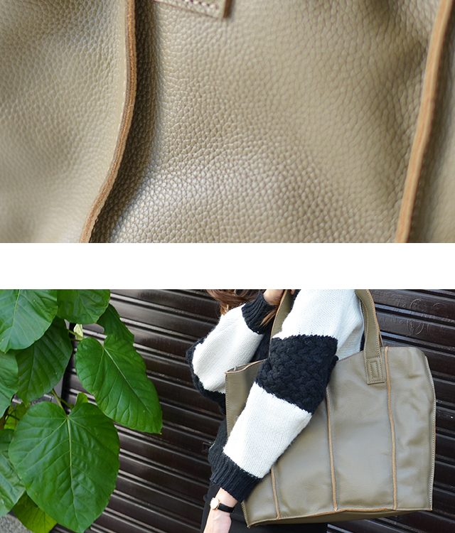 In the men's recommended ☆ simple design in the commutation is also perfect! A4 size fashion magazines are also ♪ you grow color bag ★ special price ★ cowhide, tote bags, unisex, A4 and commuter bag ladies ladies bag leather tote bag