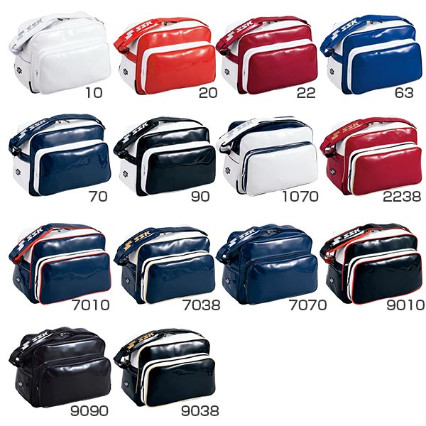 SSK baseball SSK Baseball unisex mens Womens unisex enamel bag shoulder bag  BA8000 c18eaa4fc