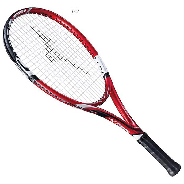【送料無料】 ミズノ Mizuno ジュニア キッズ テニスラケット Fエアロ 25 テニス ストリング張り上げ ケース付 63JTH708